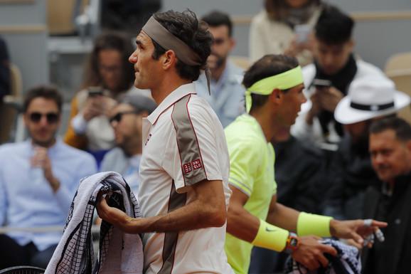 Nadal oduvao Federera za finale Rolan Garosa