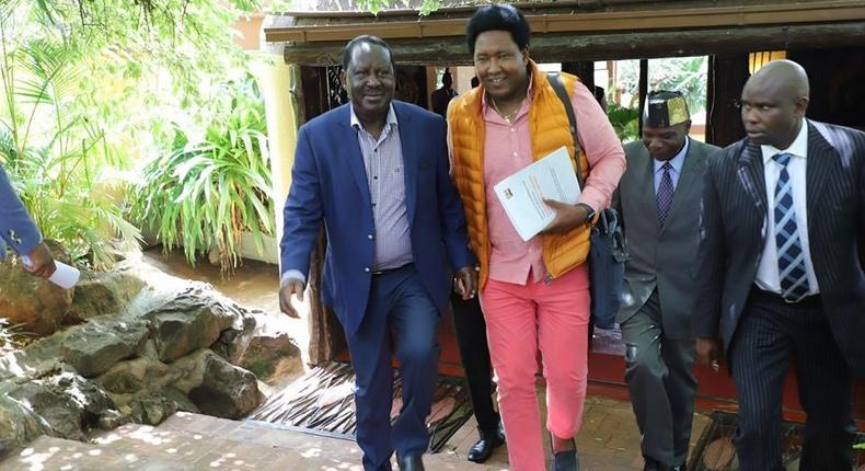 ODM Leader Raila Odinga releases statement disowning Narok Senator Ledama Ole Kina's remarks on JKL regarding BBI meeting