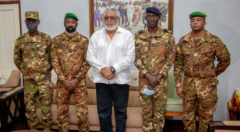 Exhibit exceptional leadership for your country - Rawlings tells Malian military