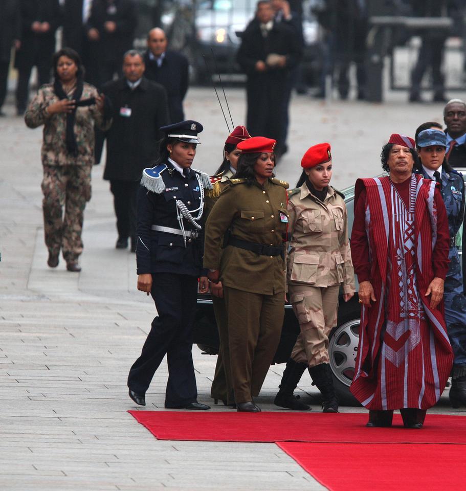 Muammar Kaddafi