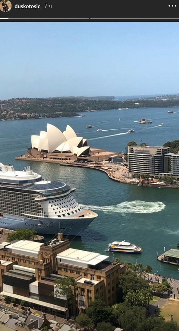 Duško Tošić u Sidneju