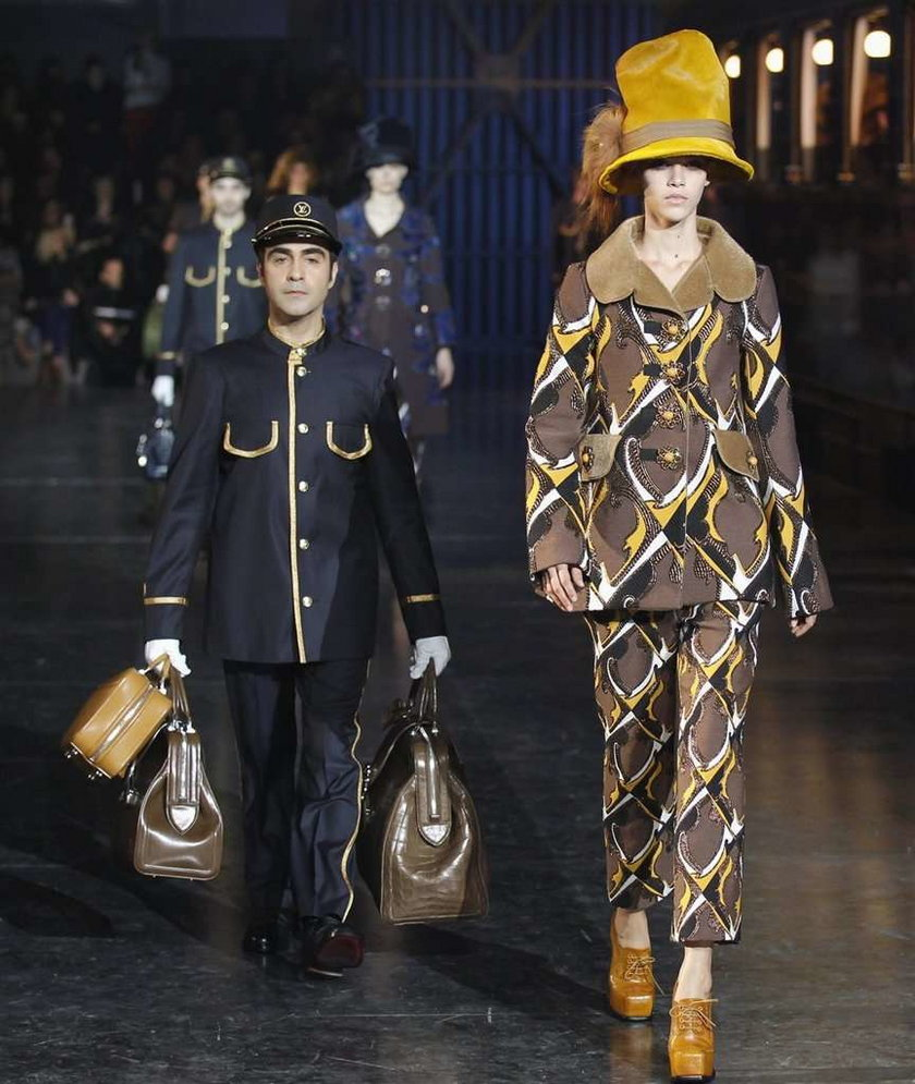Louis Vuitton jesień zima 2012 2013