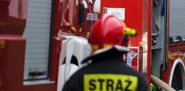 Pożar pustostanu w Toruniu. Nie żyje jedna osoba