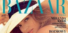 Miranda Kerr na okładce polskiego magazynu