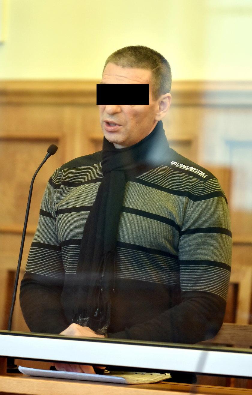 oskarżony o usiłowanie zabójstwa nożownik Zbigniew N.
