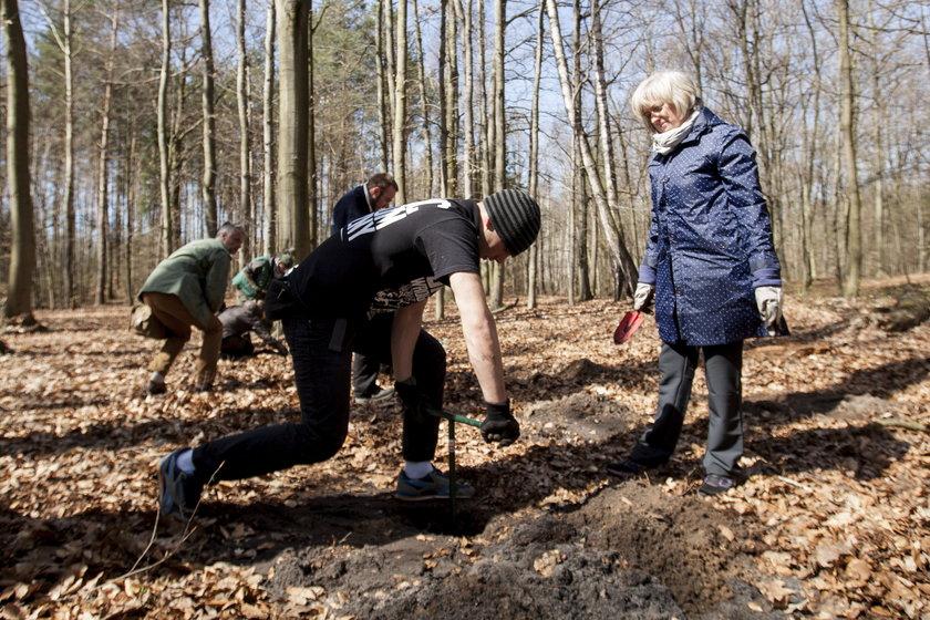 Szukają szczątków partyzantów