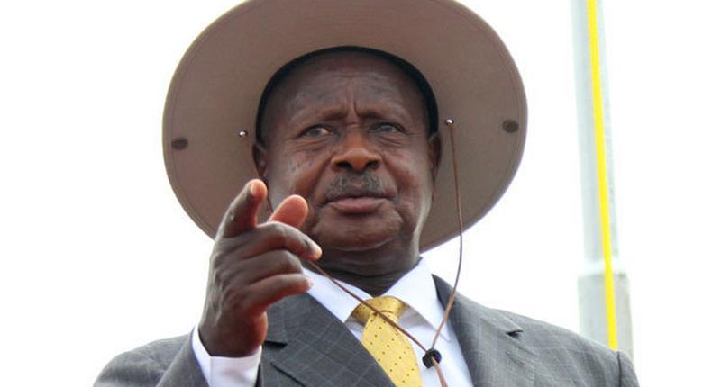 President Kaguta Museveni