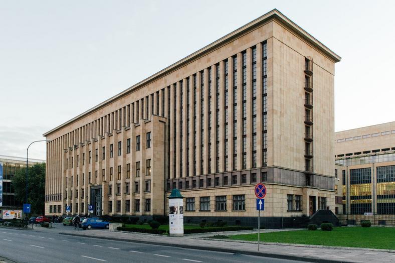 Gmach Biblioteki Jagiellońskiej przy Alejach Trzech Wieszczów w Krakowie