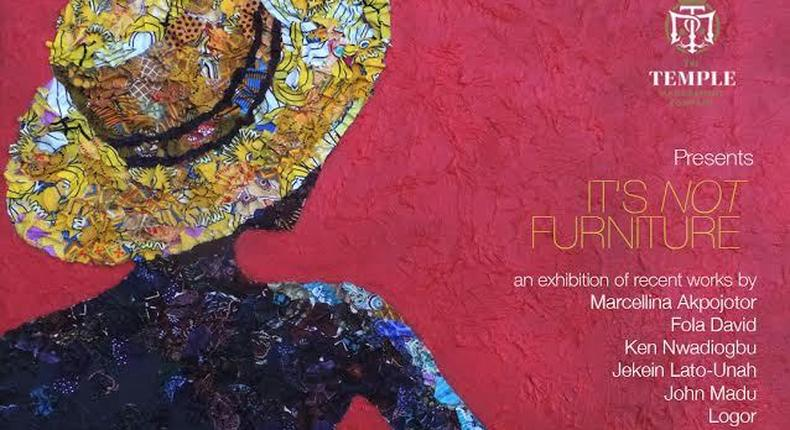 It's not furniture art exhibition