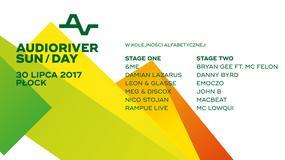 Audioriver 2017: Danny Byrd, John B i Damian Lazarus wystąpią trzeciego dnia
