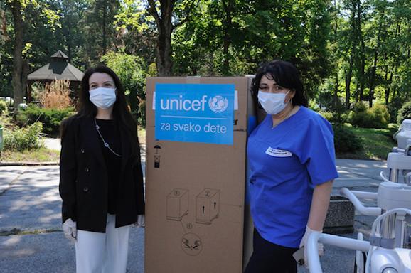 UNICEFrespiratori donacija KBC