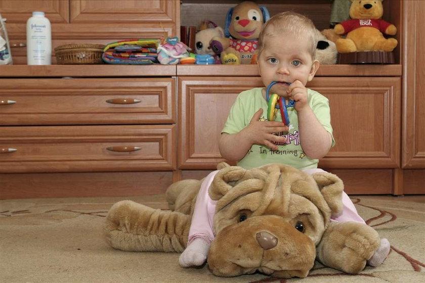 2-latka może stracić drugie oko