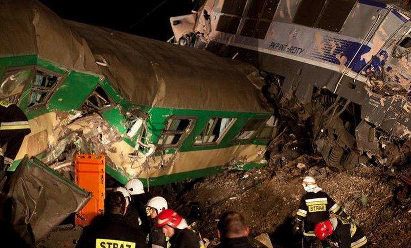 Katastrofa pociągów pod Zawierciem
