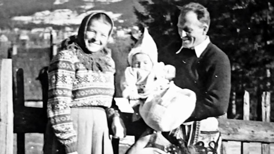 Zofia i Władysław Marcinowscy z córką Marią