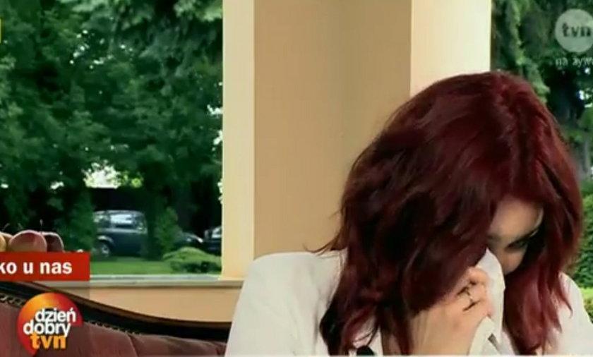 Ewa Farna popłakała się w DDTVN