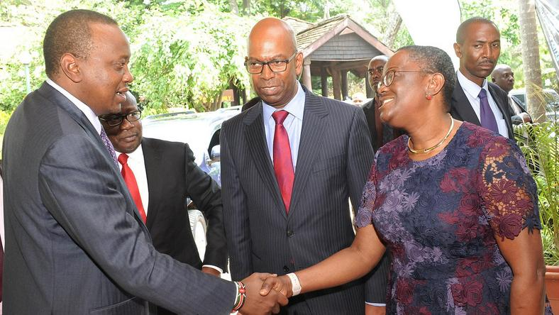 Image result for Uhuru appoints Collymore to Kenya Vision 2030 board