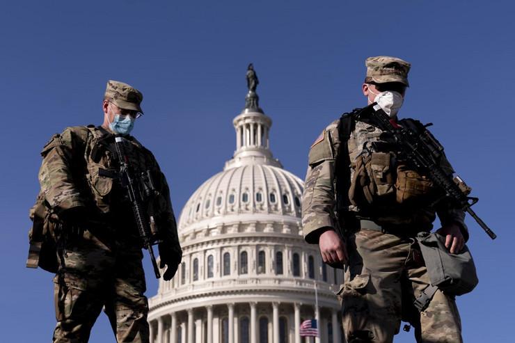 Nacionalna garda Kapitol Vašington SAD