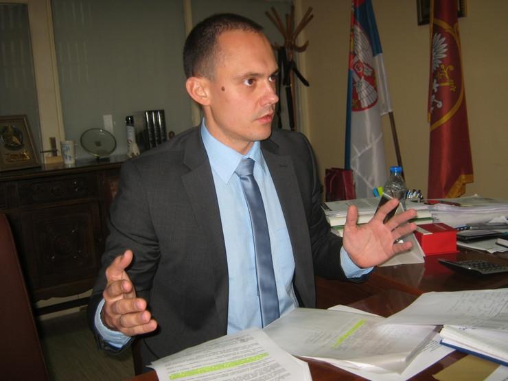 Načelnik Gradske uprave Aleksandar Vujić Subotić