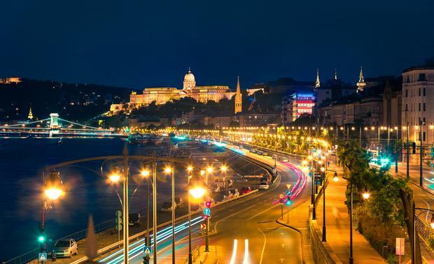 Wieczór nad Dunajem, Budapeszt