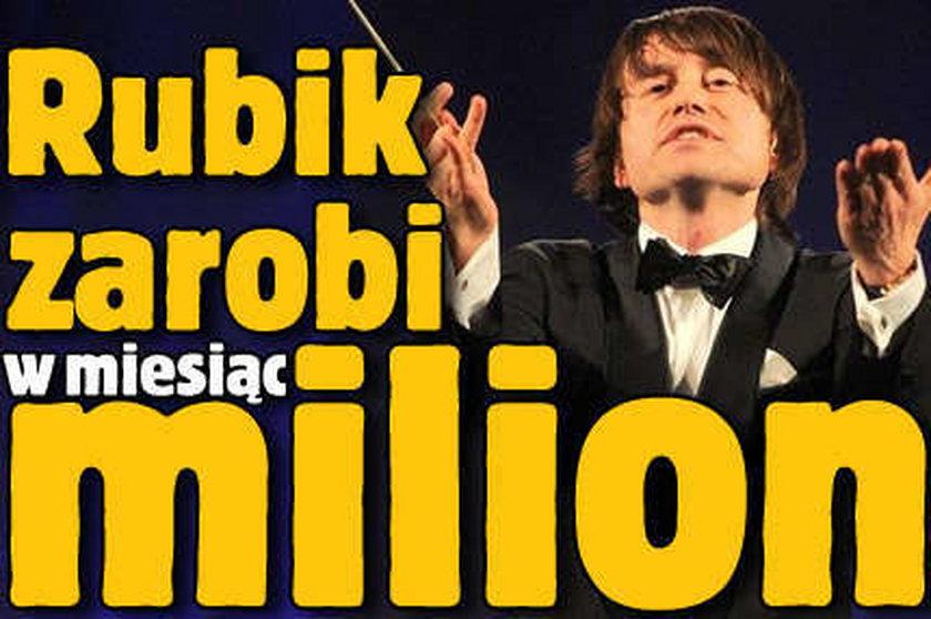 Rubik zarobi w miesiąc 1 000 000!