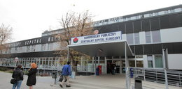 Bomba w szpitalu przy Banacha
