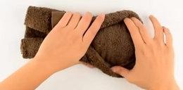 Zrób to z ręcznika. Goście będą zachwyceni