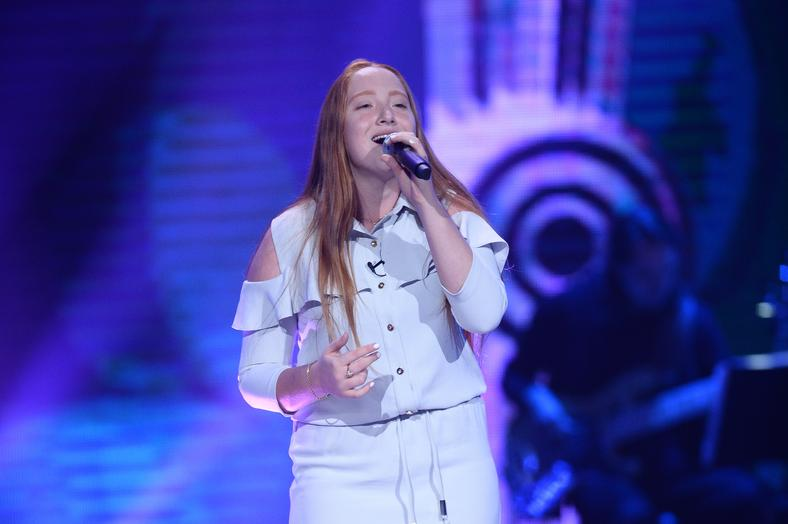 "Julia Wincenciak w ""The Voice Kids 3"""