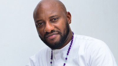 Yul Edochie says kneeling to propose to a woman is 'no big deal' [VIDEO]