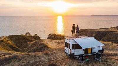 A custom camper van maker says its supply is limited by Amazon buying up the same models for delivery vans