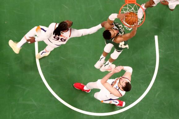 """JA NISAM MAJKL DŽORDAN!"" Zakuvalo se u velikom finalu NBA lige, Janis ODBIO DA SE PREDA!"