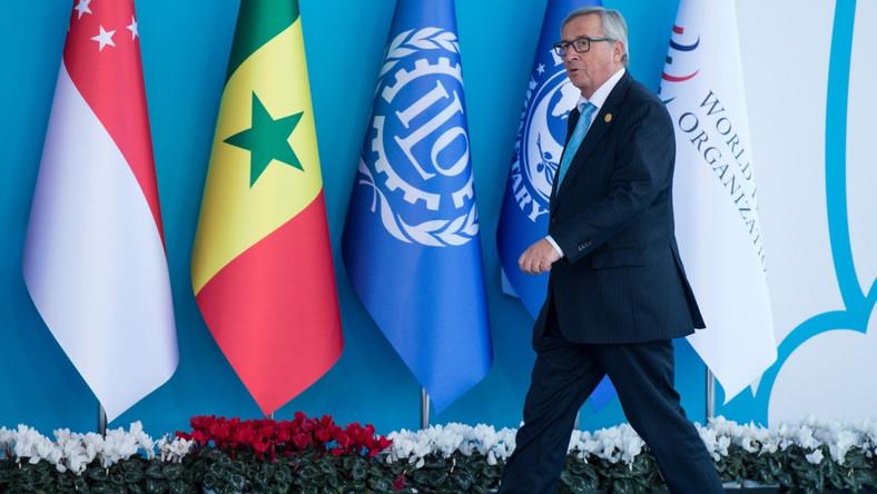 Jean-Claude Juncker, szef Komisji Europejskiej