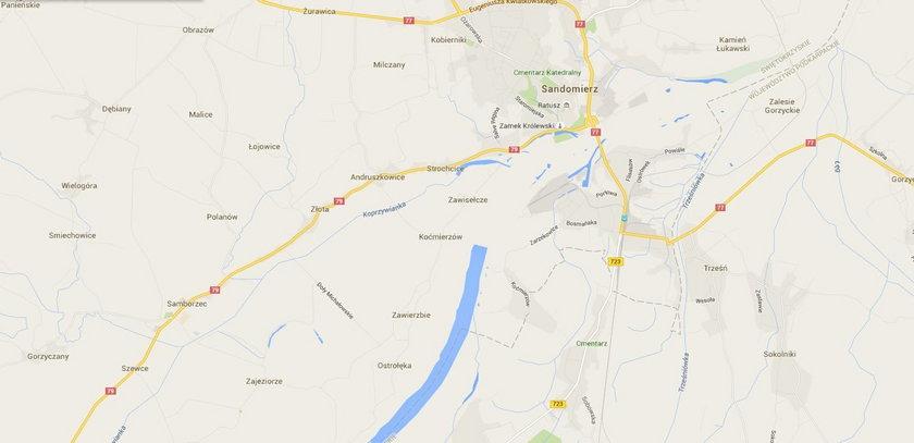 Wisła zniknęła z Google Maps
