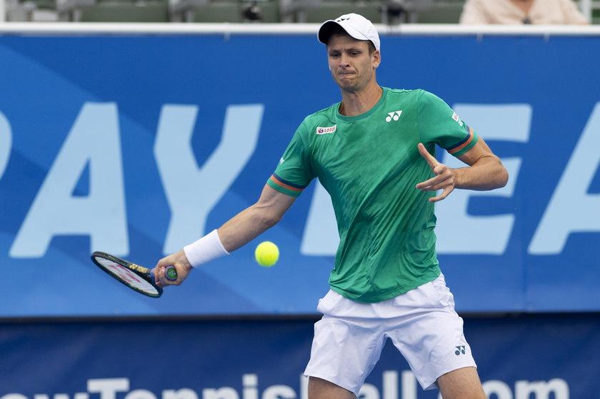 Hubert Hurkacz wygrał turniej ATP w Delray Beach