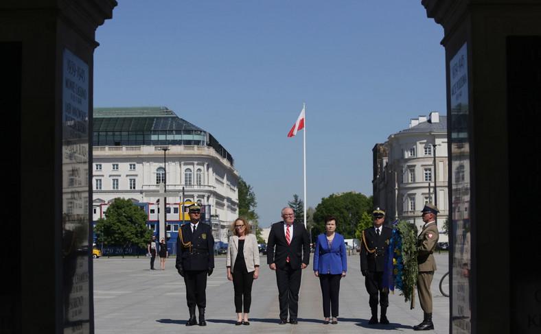 Wiceszef Komisji Europejskiej w Polsce