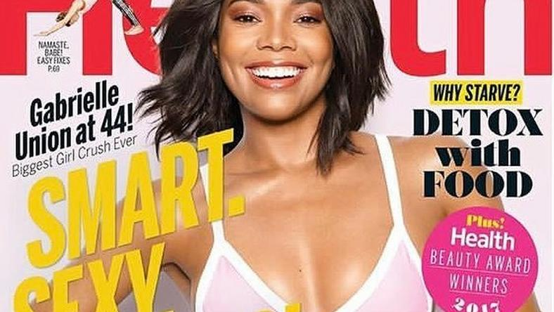 Gabrielle Union covers September issue of Health