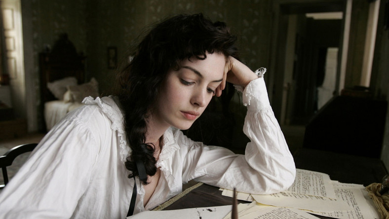"Anne Hathaway jako ""Zakochana Jane"""