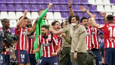 Five matches that won Atletico Madrid La Liga