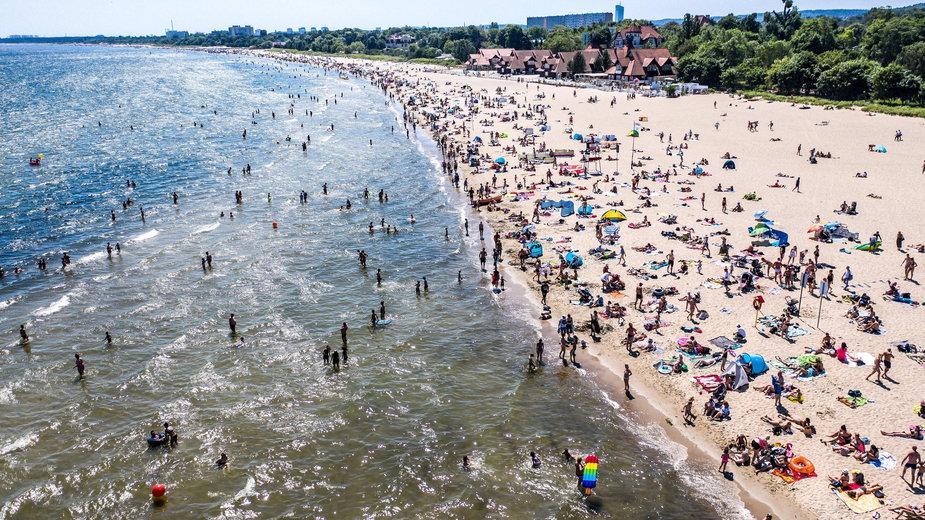 Bałtyk coraz cieplejszy. Padają rekordy temperatury