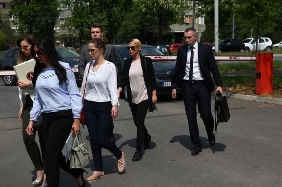 Nataša Bekvalac stigla u sud