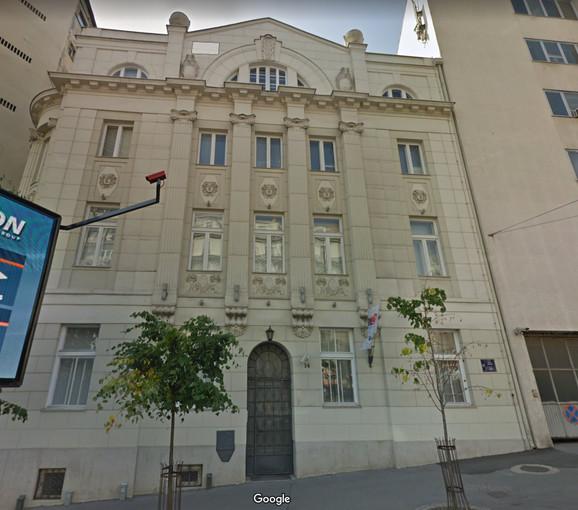 Zgrada u Ulici kneza Miloša 14