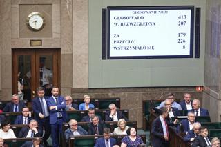 Sejm: Żaden z kandydatów na Rzecznika Praw Dziecka nie uzyskał wymaganej większości głosów