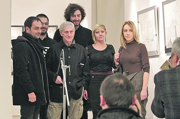 Vladimir Veličković, lauerati konkursda za crtež, fondacija Vladimir Veličković
