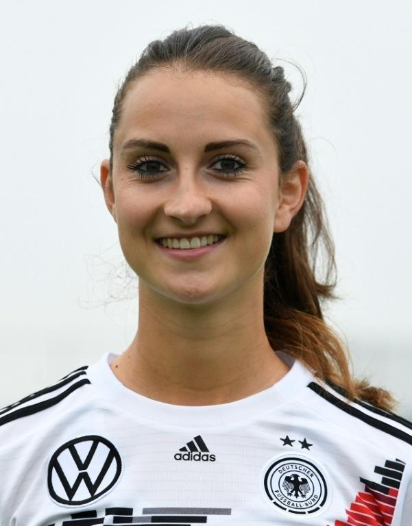 Sara Daebritz's goal agaisnt Spain left Germany favourites to top their group