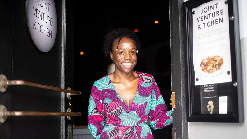 Simileoluwa Adebajo is quitting her high-paying job to launch the first ever Nigerian restaurant in San Francisco (Photo by Reed Davis, Handout)