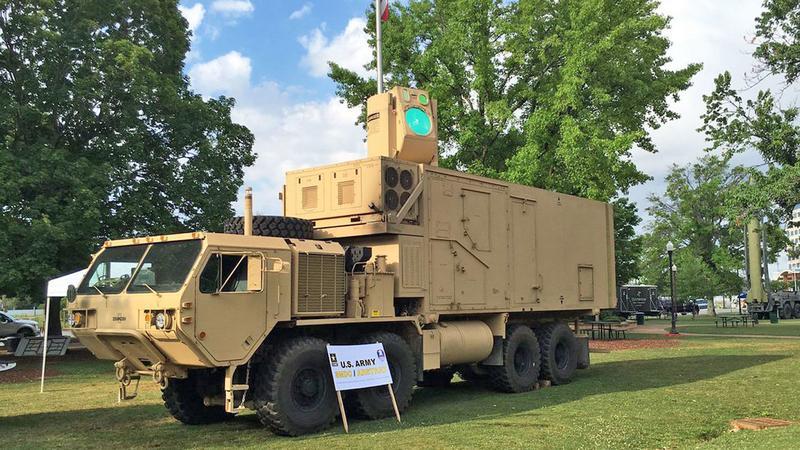 Amerykańska armia eksperymentuje z bronią laserową