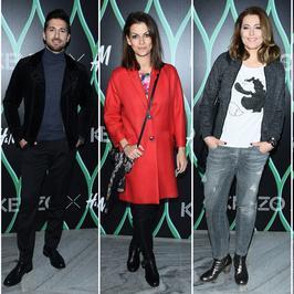 Gwiazdy na pokazie kolekcji KENZO dla H&M. Odchudzona Karolina Szostak znowu zachwyciła!