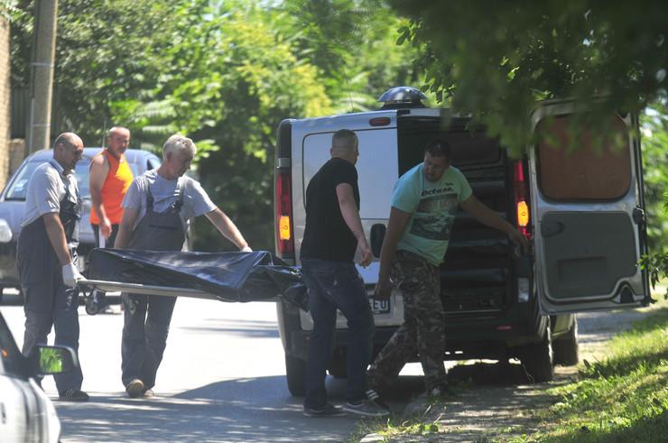 Uviđaj nakon ubistva u Suseku