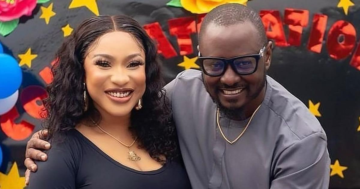 Tonto Dikeh drags ex-lover to police over nude photos blackmail allegation