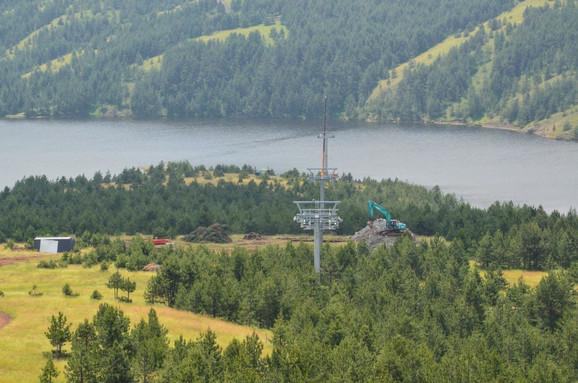 Zlatibor, Ribničko jezero