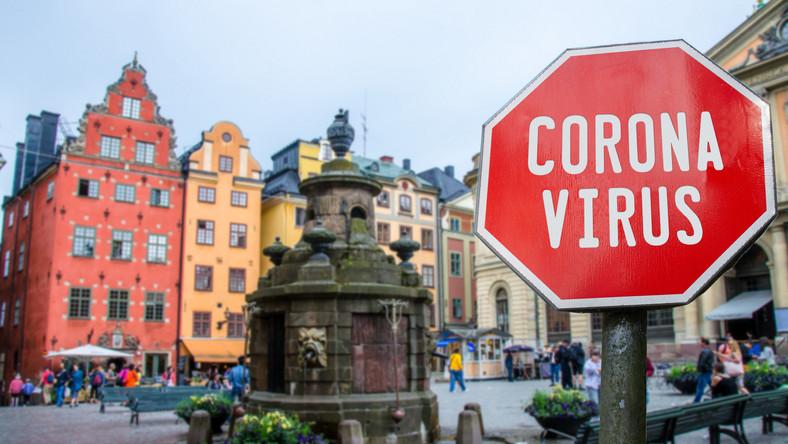 Szwecja koronawirus